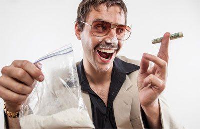 Состояние человека под кокаином