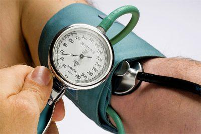 Снижение уровня артериального давления