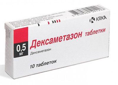 Последствия передозировки дексаметазоном