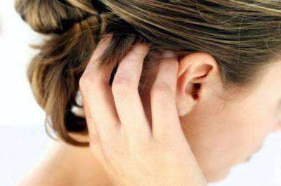 Следствие дерматоза