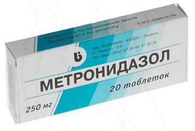 Как метронидазол сочетается с алкоголем