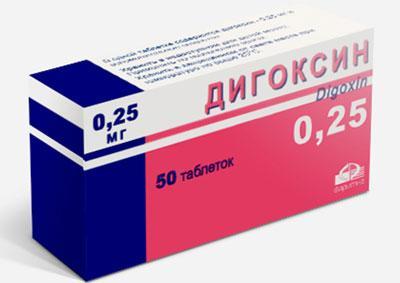 Симптомы отравления и передозировки дигоксином