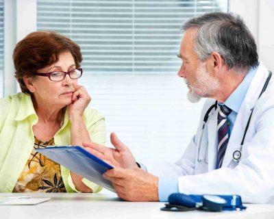 изучение жалоб пациента;