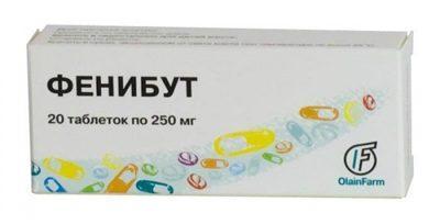 Лекарственный препарат Фенибут