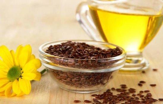 Льняное масло для очищения организма и кишечника