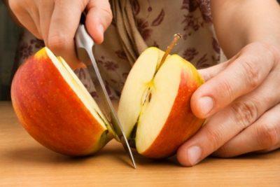 Резанные яблоки