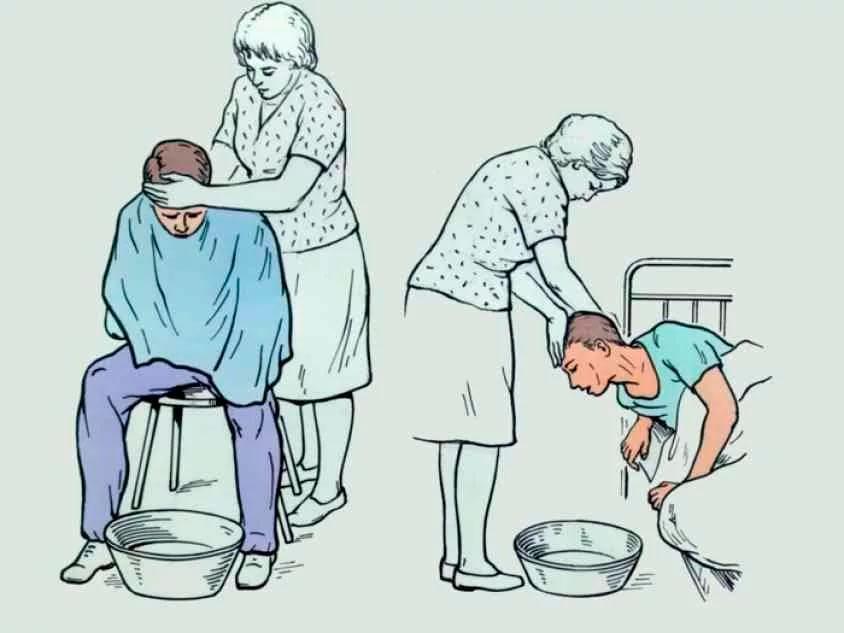 Первая помощь при тошноте и головокружении