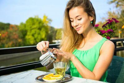 Зеленый чай выводит токсины