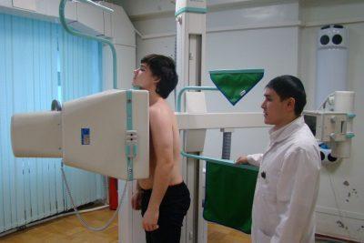 доза радиации при рентгене