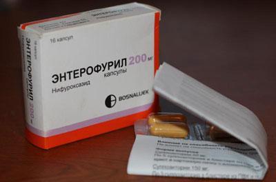Таблетки от отравления энтерофурил