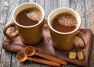 Чашки с какао