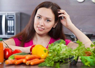 Овощи для правильного питания
