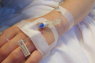 Капельница после операции