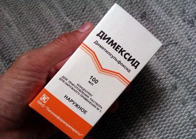 Симптомы и лечение отравления димексидом