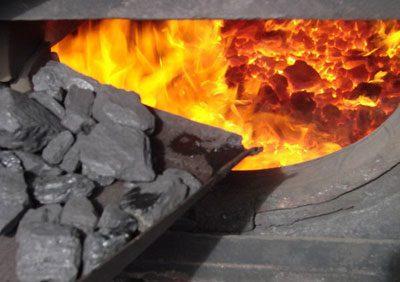 Сжигание угля