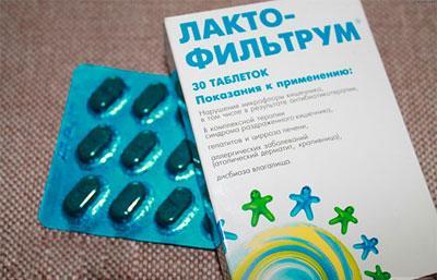 Показания и способ применения таблеток лактофильтрум