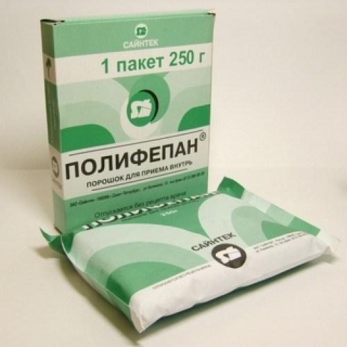 Сорбент полифепан для очищения организма