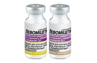 Левомицетин для уколов