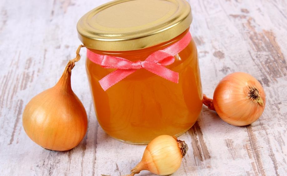 Лук с медом для чистки сосудов головного мозга