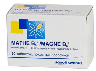 Препарат Магний б6