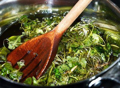 Приготовление масла чистотела