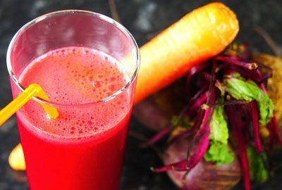 Свекольно морковный сок