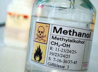 Отравление метанолом – симптомы и лечение