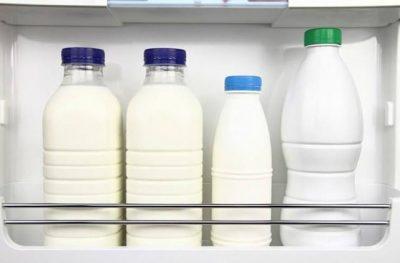 Неправильное хранение молока
