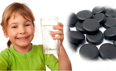 Можно ли лечить детей активированным углем
