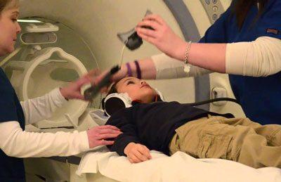 МРТ мозга ребенка