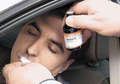 Нашатырь при алкогольном опьянении и запое