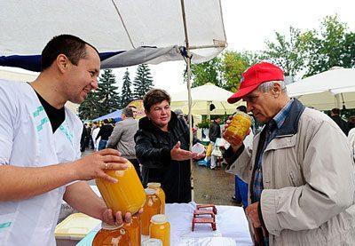 Покупка меда