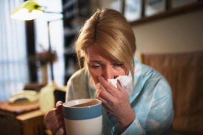 Простудные заболевания вирусного характера.