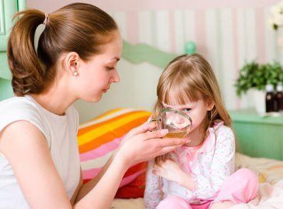 Обильное питье ребенку