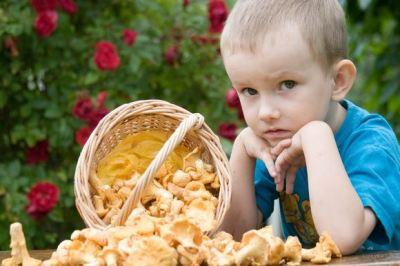 Симптомы и лечение отравления грибами у детей