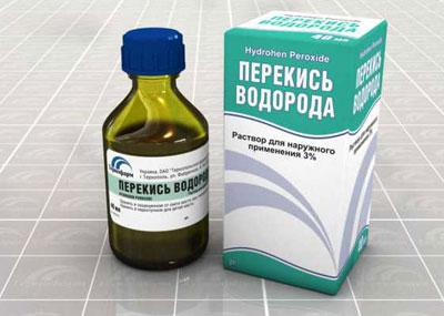 Симптомы и первая помощь при отравлении перекисью водорода