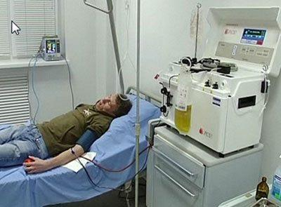 Процедура плазмосорбции