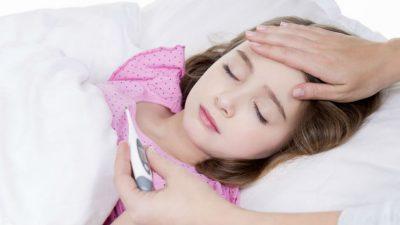 Побледнение кожи у ребенка