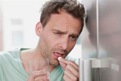 Прием антипохмельных препаратов