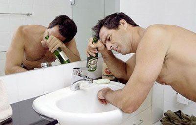 Тошнота при алкогольном отравлении