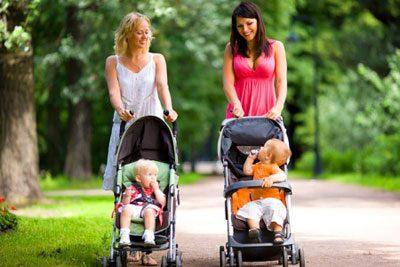 Прогулка с детьми