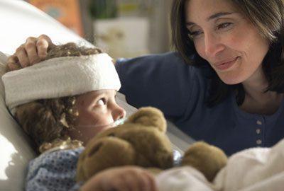 Травма головы у ребенка