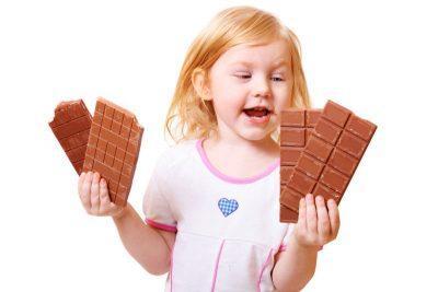Употребление шоколада