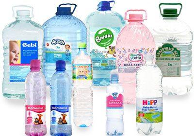 Покупная питьевая вода