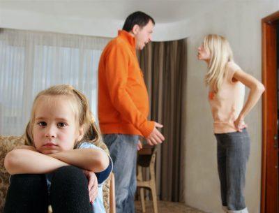 постоянное пребывание ребенка в нервной обстановке