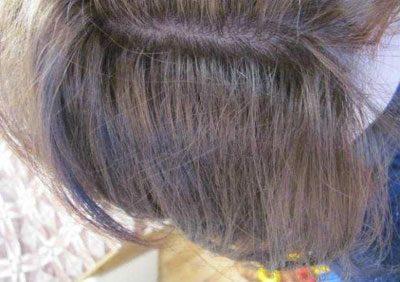 Волосы после дегтярного шампуня