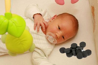 Активированный уголь для лечения новорожденных