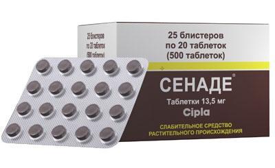Симптомы и первая помощь при передозировке препаратом «Сенаде»