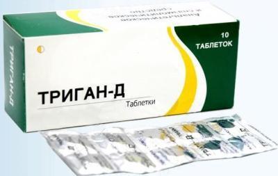 Последствия передозировки препаратом «Триган-Д»