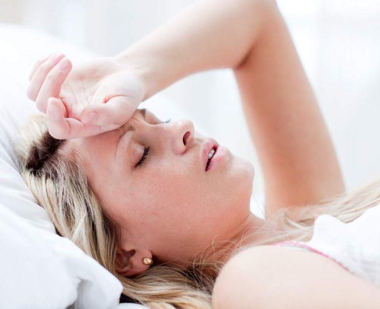 Тошнота, головокружение, слабость и боль в животе
